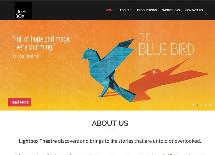Lightbox Theatre Website Thumb